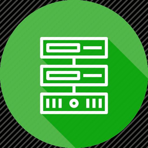 center, data, database, hosting, series, server, web icon