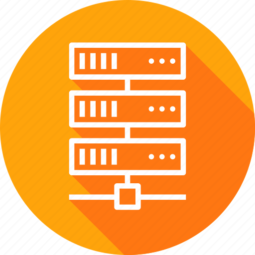 data, database, hosting, rack, series, server, web icon