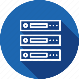 data, database, hosting, rack, series, server, web icon
