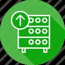 databse, hosting, rack, server, upload