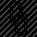attachment, chain, link, pin, url icon