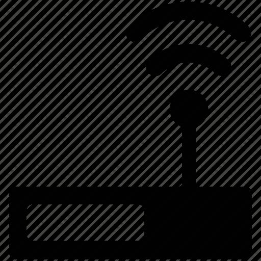 antenna, booster, router, wifi, wlan icon