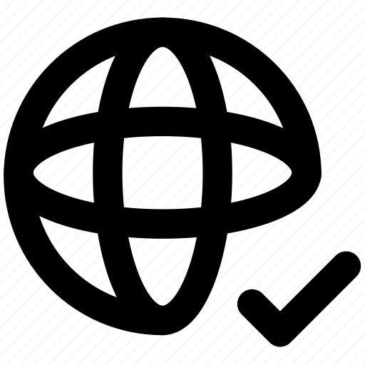 internet, network, web security icon