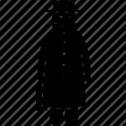 agent, confidential, man, mysterious, secret, secretive, spy icon