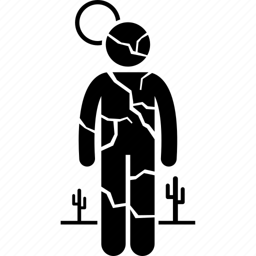 dry, man, person icon