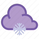 cold, frosty, snow, snowfall, snowflake, weather, winter icon