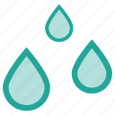 clouds, cloudy, forecast, rain, raindrops, rainy, weather icon
