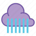 cloud, heavy rain, rain, raining, shower, showers, weather icon
