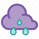forecast, rain, shower, sprinkle, sprinkles, storm, weather icon