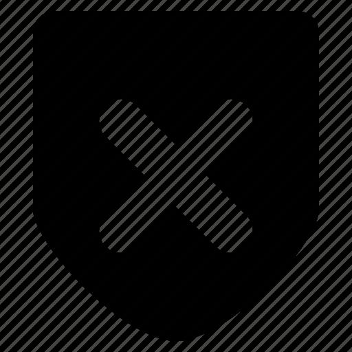 antivirus, block, junk, protect, shield, spam, stop icon