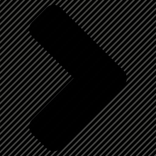arrow, chevron, forward, right icon