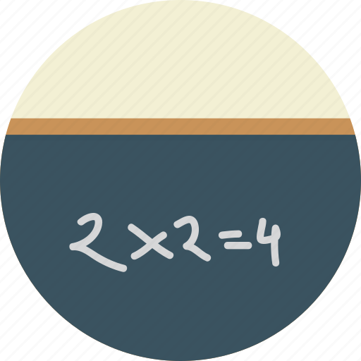 digits 123, education, school, writing board icon icon