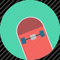 skateboard, skates, skating, sports icon icon