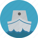 boat, sea, ship, travel icon icon