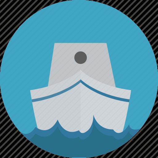 boat, sea, ship, travel icon icon