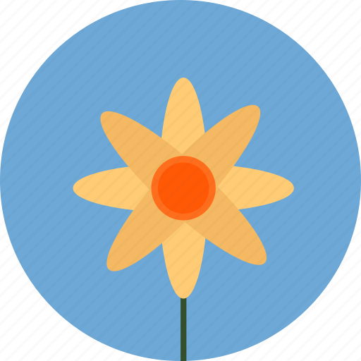 chamomile, easter, flower, spring icon icon