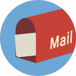 email, mail, mailbox icon icon