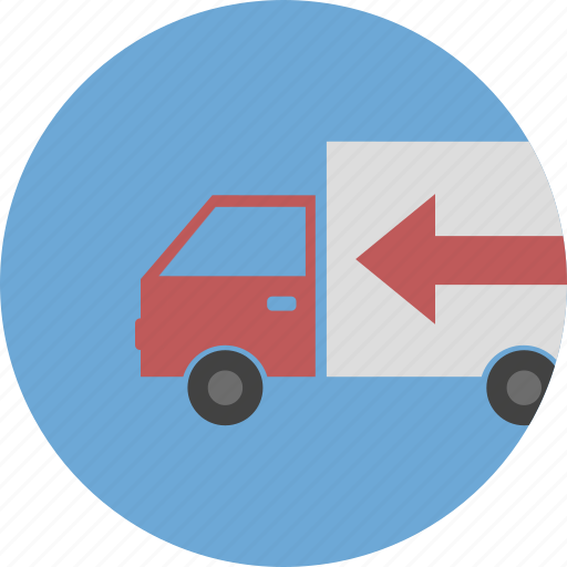 delivery, logistics, shipping, truck icon icon