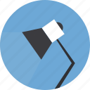 desk lamp, lamp, light, reading lamp icon icon