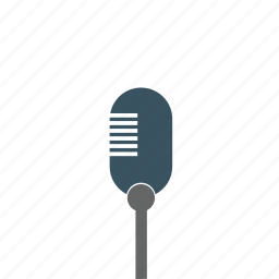 microphone, radio, sounds, volume icon icon