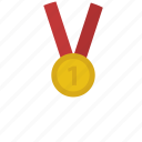 medal, trophy, win, winners icon