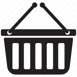 basket, cart, restaurant, shoping icon icon
