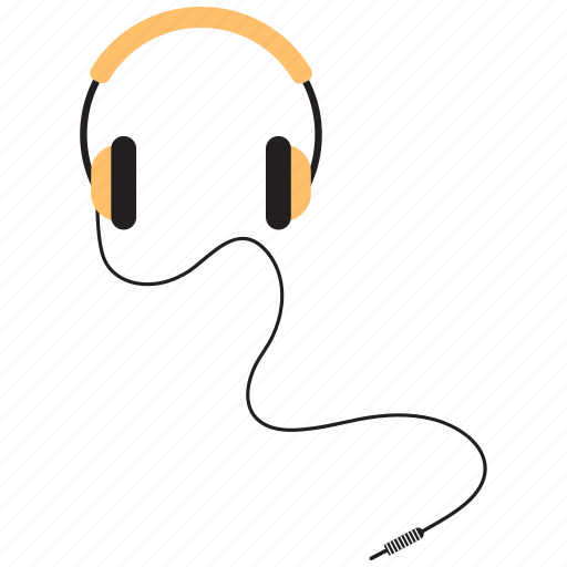 audio, earphone, headphones, music icon
