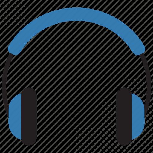 audio, earphone, headphones, music icon icon