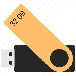 32 gb, device, medium, memory, pendrive, stick, storag icon