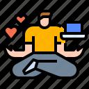 balance, life, meditation, work, working