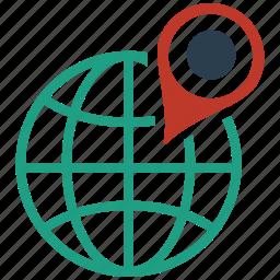 business, geo, internet, marketing, seo, targeting, web icon