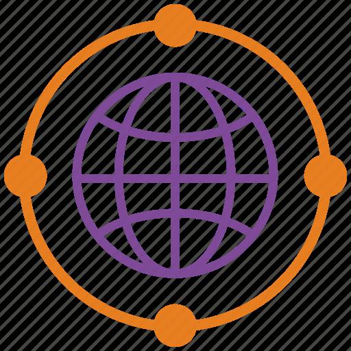 business, internet, link, marketing, seo, web, wheel icon