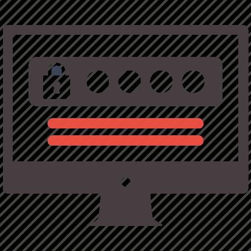 password, seo, seo pack, seo services, web design icon