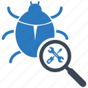 antivirus, bug, fixing, protect, protection, security, virus icon