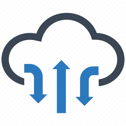 cloud, clouds, cloudy, computing, data, server, storage icon