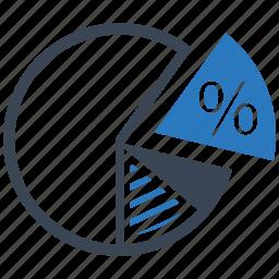analysis, competitor, diagram, graph, pie, presentation, statistics icon