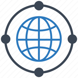 communication, connection, link, network, seo, web, wheel icon