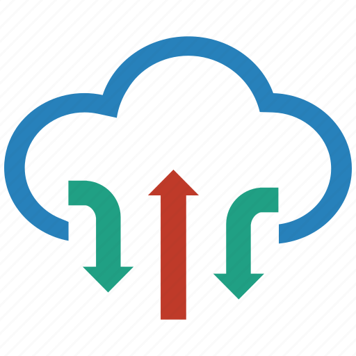 cloud, clouds, cloudy, computing, server, storage, upload icon