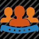 account, avatar, customer, profile, service, testimonial, users icon