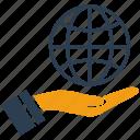 communication, earth, global, globe, internet, network, world icon