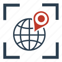 business, financial, gps, local, location, navigation, seo icon