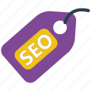 ecommerce, label, price, sale, seo, shop, tag icon