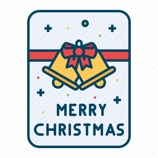 bell, card, christmas, decoration, greetings, wish icon