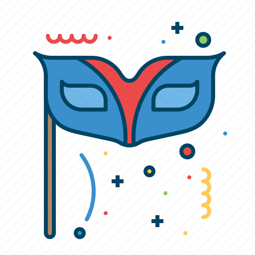 dance, fashion, halloween, mask, masquerade, party icon
