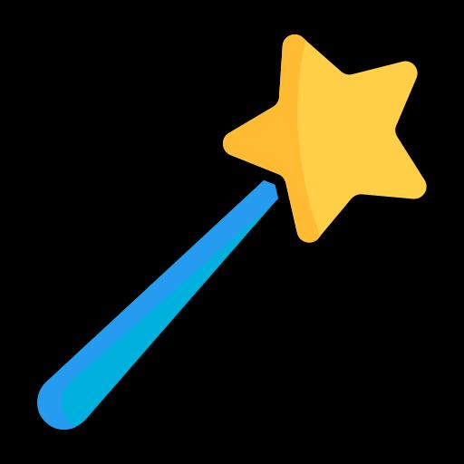 candy, magic wand, magician, magicwand, stick, sweet, trick icon
