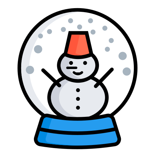 Ball, christmas decorations, snowman, christmas, snow, winter, xmas icon - Free download