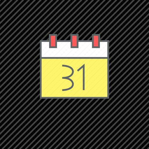 calendar, celebration, december, eve, event, new year, night icon