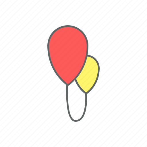 balloon, balloons, eve, event, holiday, new year, party icon