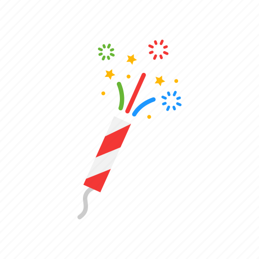celebration, fireworks, new years eve, party icon