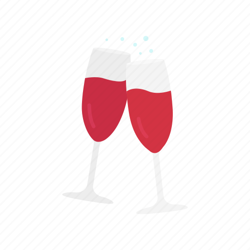 cheers, red wine, wine, wine glass icon